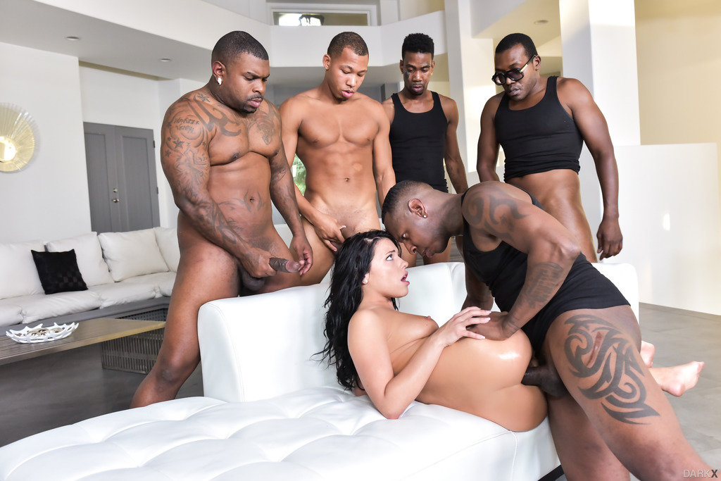 Group sex one girl