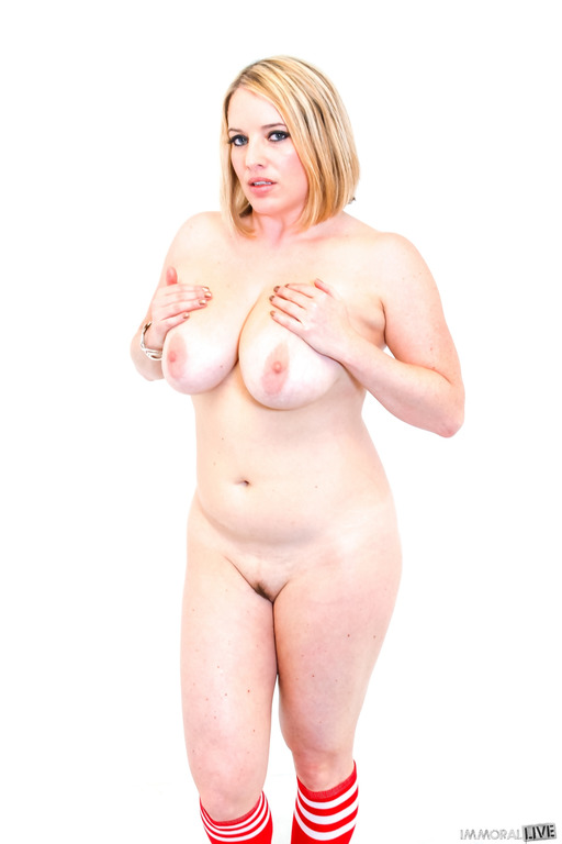 image All natural maggie green demands you to drain your balls