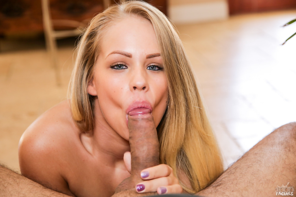 Beautiful blonde cock sucker you