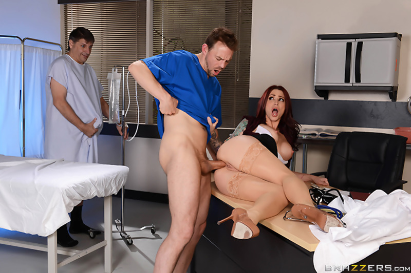 Doctor And Nurse Duo Stack Their Pussies For Patient With Big Dick Nubile Films 1