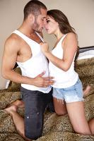 Marvelous Allie Haze enjoys a huge dick inside of her