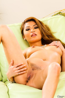 Solo posing session features gorgeous Charmane Star