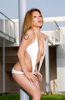 Solo undressing session with astounding Charmane Star