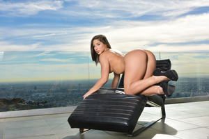 Splendid Abella Danger undressing for Lexington Steele