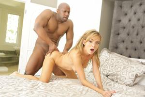 Pristine Edge has sex with big Ebony guy Prince Yahshua