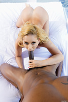 Busty pornstar Cherie Deville enjoying a great fuck