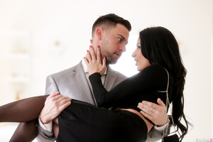 Anissa Kate and Seth Gamble having an incredible fuck