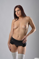 Sexy photo session with fabulous brunette Roxy Lane
