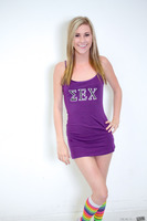 Excellent teen Tysen Rich undresses her college uniform