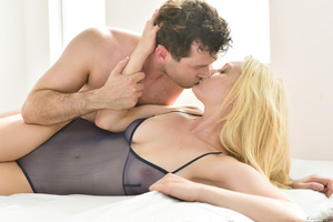 James Deen licks out and fucks gorgeous babe Alli Rae