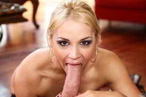 Fascinating chick Sarah Vandella pleasing Will Powers