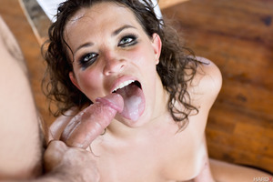 Fabulous Lily Love fucked hardcore by sweet James Deen