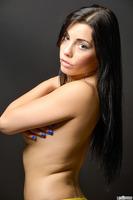 Fabelhaften Pornostar Shana Lane zieht Ihre Unterwäsche