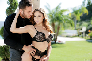 Ariana Marie being fucked in her hot luxury lingerie