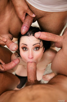 Gangbang action with excellent whity Veruca James