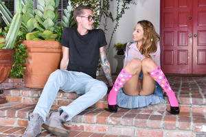 Skinny stud Buddy Hollywood penetrates Stassi Sinclair