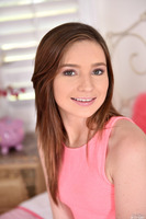 Brunette teen Emma Ryder does an excellent blowjob