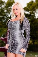 Wonderful blondie Alena Croft sucking dick of David Loso