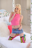 Blonde teeny Piper Perri is really horny for a dick