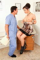 Busty Satine Phoenix gets a special treatment from her doctor