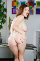 Marvelous brunette Krissy Lynn sucking big cock of David Loso