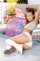 Tight Asian pornstar Alina Li revealing her sweet buns