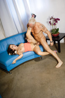 Kaci Starr masturbates and gets nailed by Marcus London
