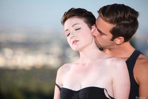 Wonderful couple of Logan Pierce and Emma Snow fucking