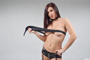 Two amazing pornstars posing in their luxury underwear