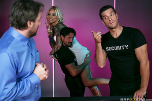 Britney Shannon can't wait to get inside the hottest new dance club in the city, but when her husband doesn't have enough cash to get them inside, Britney's left with no choice but to try and find a way inside. Luckily for her, she's hot as fuck and seduc