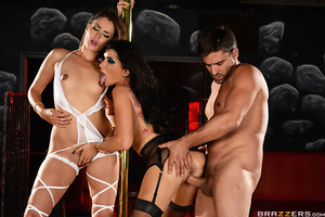 Allie Haze has to work with Romi Rain, the assassin who took her girlfriend's life. Posing as horny strippers these two hot killers  get close to mobster Toni Ribas... but for Romi, it might be too close.