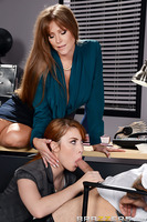Gwen Stark wants to get her boyfriend Small Hands a job at her stepmom Darla Crane's prestigious law firm. The only problem is that he has no experience and even less education. Luckily Gwen knows that her stepmom is a horny milf who has a thing for young
