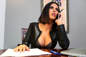 When Megan Rain arrives on set and proceeds to annoy everyone with her unprofessional behavior, it's up to consummate pro and agency head Shy love to come by and straighten the bitch out. After confronting the young starlet, Shy allows Megan to prove her