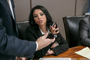 Missy Martinez is chosen by her office to sample a new female product line, which is meant to stimulate women sexually. When her boss Danny Mountain encourages her to try the products in the boardroom, her initiative to get frisky and fun only makes her b
