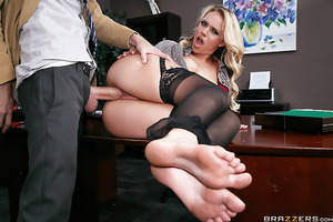 When an important client named Tony Lucci goes to see the District Attorney, Alexis Monroe, the last thing she wants is for brash lawyer Danny D to barge into the office and fuck it all up. After embarrassing himself in front of the client, Mr. D now want