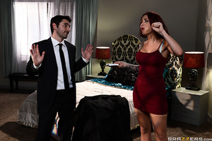 Monique Alexander has been handed her biggest mission yet: suck and fuck a spy while not compromising herself. Monique, however, is turned on by the challenge of seducing a spy. Just the idea of having risque fun while fucking for her country makes Moniqu