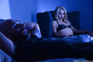 Desperately searching his phone for a late night booty call, Johnny Sins has no luck in finding an available woman to fuck. His most recent bang, Staci Carr, has even mysteriously died, which makes him a bit suspicious. He decides to call it a loss and he