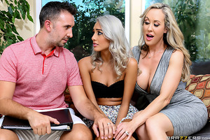 Keiran Lee and Brandi Love are one fucking horny couple! They love to fuck all over their house, only problem is that Brandi is often too tired to fuck since she's always cleaning and maintaining the upkeep of the house. The couple decide to hire the sexy