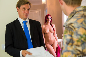 Danny D has decided to rent a room at the home of Aylin Diamond, a sexy but shy redhead who's in for a treat! Danny, in need of getting laid, decides to charm the pants off of Aylin, who is also down to fuck nice and rough. Suddenly Aylin's shyness disapp