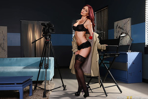 A nymphomaniac porn director (Monique Alexander) is consistently hungry for some big cock to suck and fuck. She often can't help but want to jump in on the sexy times she films. While in the middle of shooting her next great sex scene, a strange visitor f