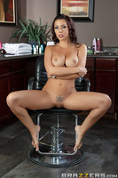 Sexy hairdresser Rachel Star feels bad for Preston Parker, who is so whipped by his bitch of a wife that it looks like the poor guy hasn't gotten laid in centuries! Rachel, being a nympho and all, is sensitive to cocks in desperate need of loving and care