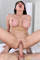 When horny Milf Eva Karera is left home alone, her boredom soon turns to her flicking her clit and playing with her tits on her living room sofa, enjoying the time to herself. But this nympho can't satisfy herself without having a big cock to suck and fuc