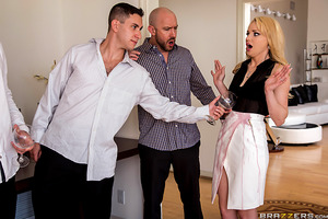 At a wine tasting party, sexy Staci Carr has her closest friends over. Her husband, however, makes an ass of himself and ruins the party for Staci. One of Staci's guests, Will Powers, notices the wife's frustration and decides to give her a helping hand w