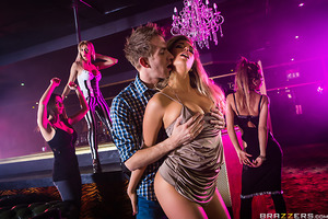 When Danny D and his friends go clubbing, he runs into his old flame who is working as the night's DJ. Looking to get back at his ex for blowing him off, Danny notices a sexy dancer working the floor in Eva Parcker and decides to fuck her right then and t