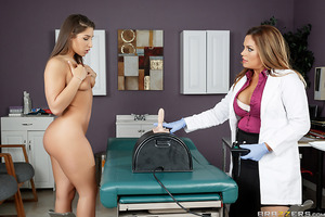 Young newlywed Abella Danger has been trying to get pregnant for a while now but nothing seems to be working, so she goes to Dr. Jasmeen for help. The hot milfy doctor thinks Abella just isn't getting turned on enough during sex, so Jasmeen has Abella rid