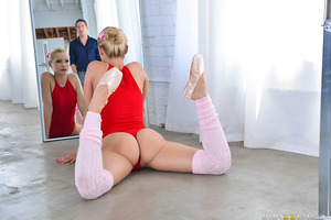 Staci is determined to get into Mick's prestigious ballet school, even if she has to fuck her way in. Luckily for her, Staci is more than willing to let herself be his flexible little fuck toy.