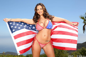 God bless America, the home of many sexy sluts, including the gorgeous goddess, Ava Addams. Her big tits are plump and perfect, but what really makes her hot as fuck is her big wet beautiful American ass. This Independence Day, show some patriotism and so