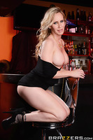 Diamond Jackson is a newly divorced milf eager to find a young, thick cock to fuck, so she drags her married friend Simone to a bar to help her pick up guys. With none in sight, Diamond is getting hornier by the minute. So when Simone steps out to call he