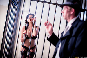 What's a guy to do when a femme fatale crosses his path, a stacked dame like Anna Polina with a shady reputation and tits for days? Danny knew he only had a few minutes to get to the bottom of the case, before a friend showed up to bail her out of jail. L