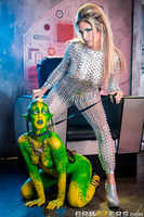 With a keen eye for sexual deviance, The Collector (Eva Parcker) travels the universe in search of raunchy specimens to abduct. Of course Danny D, with his famous schlong, is chosen to represent Earth's male population. In a flash of light he finds himsel